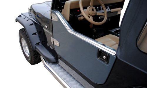 Jeep fiberglas half doors