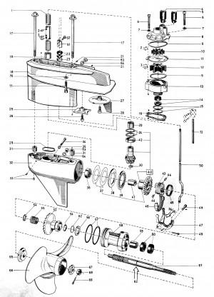 Dichtung/Dichtring für Wasser-/Lenzpumpe Volvo Penta 3551552