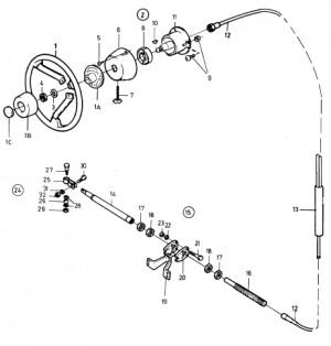 Gelenksatz für Roto Pilot STS330 851122