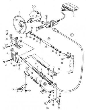 Kugelgelenksatz von Volvo Penta 875772