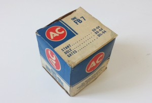 Öleinfülldeckel mit Entlüftungsfilter AC one FB7