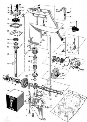 Getriebehülse-Kupplung/Kupplungshülse Volvo Penta 3555618