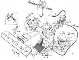 Dichtung für Kraftstoffanlage - Volvo Penta 61830