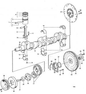 Dichtungsring für Schwungrad - Volvo Penta 430118