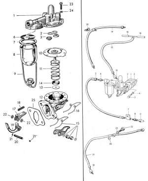 Kraftstoffschlauch flexibel von Volvo Penta 813007/826800