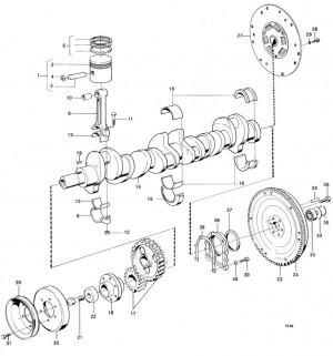 Schwingungsdämpfer von Volvo Penta 430122