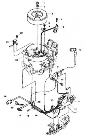 Zündspule (Coil, Ignition) 339-803559T1