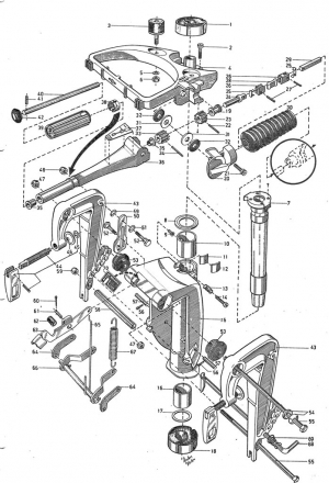 Feder für Rücklaufsperre Volvo Penta 3554701