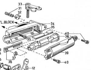 Synchronisierungsrolle Volvo Penta 3554786 / 3575878