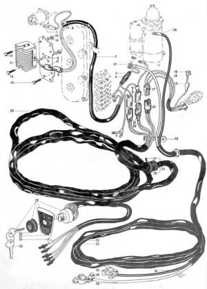 Kabelbaum von Volvo Penta 3556360
